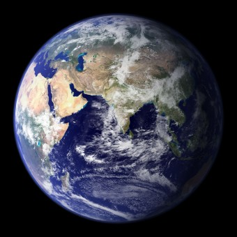 The Blue Marble (public domain) NASA
